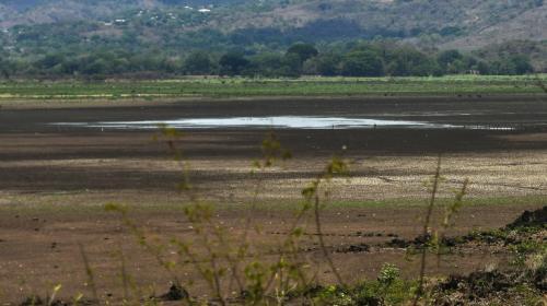 El cambio climático secó la laguna de Atescatempa