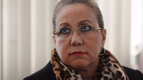 Blanca Stalling es separada del cargo de Magistrada