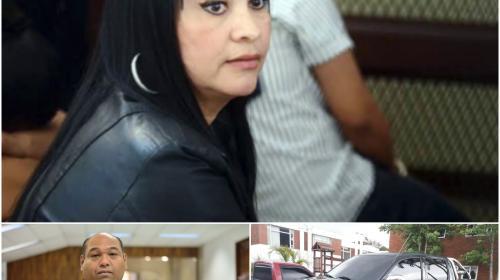 Cabello y una huella, las pistas encontradas en el auto de abogado