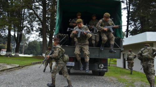 El Ejército se despliega por San Marcos para retomar el control