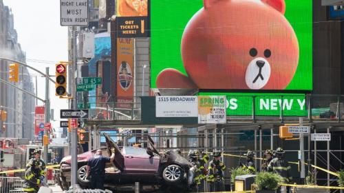 Esto se sabe de lo ocurrido en Times Square, Nueva York