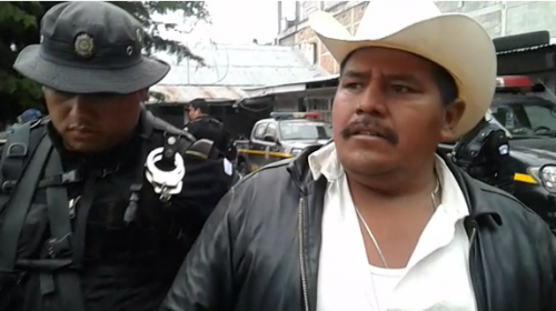 PNC confirma primer arresto en estado de sitio en San Marcos