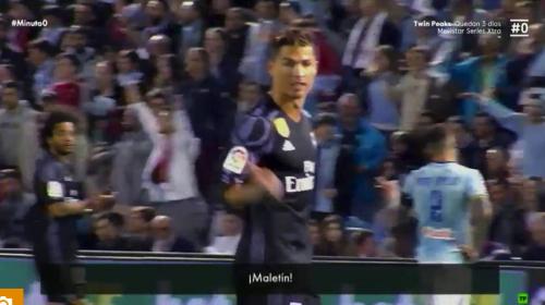 """Cristiano Ronaldo acusó a jugadores del Celta de estar """"pagados"""""""