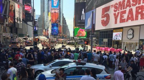 Tragedia en el corazón de Nueva York: un muerto y decenas de heridos