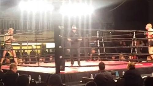 El insólito gesto de traición en una pelea de MMA