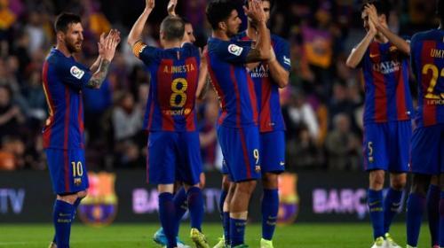 El Barça ganó pero no le alcanzó para llevarse el título de La Liga
