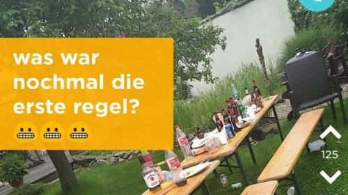 Una mesa con restos de comida, el nuevo reto visual en redes sociales