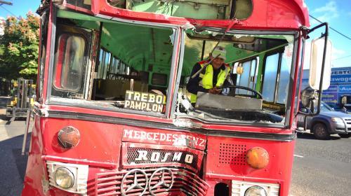 Pesadilla urbana número 1: los buses rojos