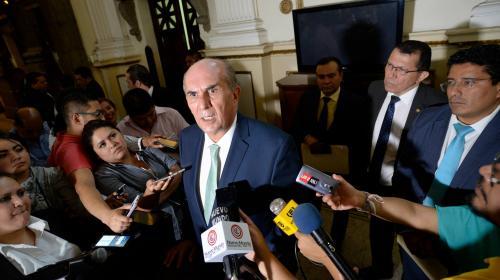 """Taracena denuncia """"complot"""" de la Contraloría contra aliados del MP"""