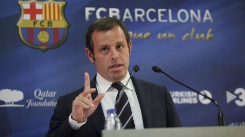 Capturan al expresidente del Barcelona por lavado de dinero