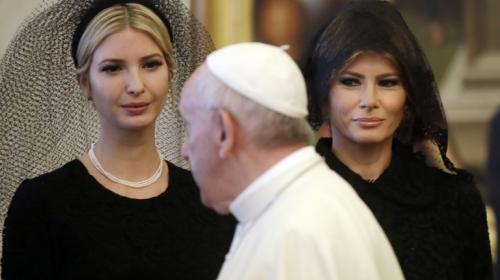 La broma del Papa Francisco a Trump que solo Melania entendió
