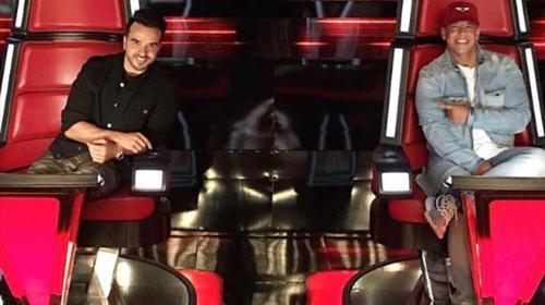 """Luis Fonsi y Daddy Yankee cantan """"Despacito"""" en """"The Voice"""""""