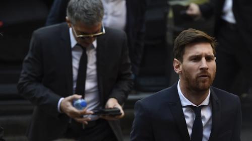 Confirman condena de prisión para Messi por fraude fiscal