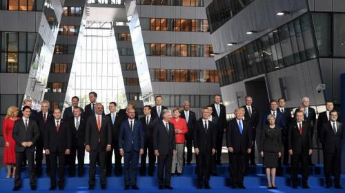 Trump empujó al Primer Ministro de un país de Europa