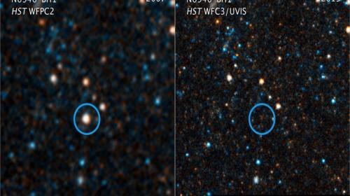 Una estrella gigantesca desaparece en el espacio y consterna a la NASA