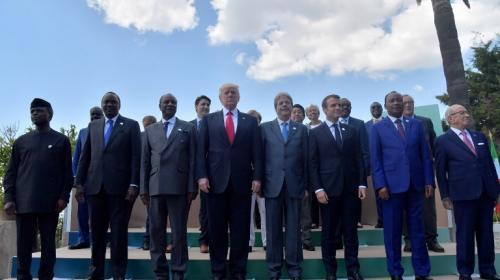 Trump hizo esto para no caminar junto a los líderes del G7