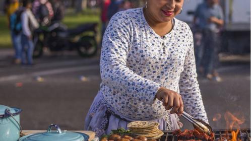 Paraíso urbano número 1: comer en la calle