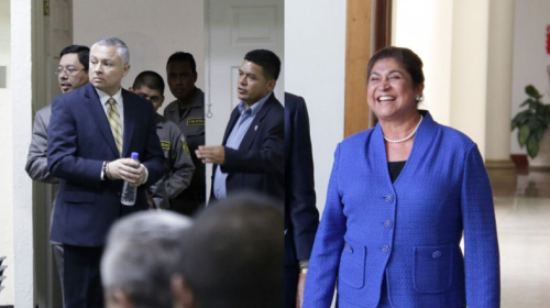 Eco declara que también se reunió con la esposa de Otto Pérez Molina