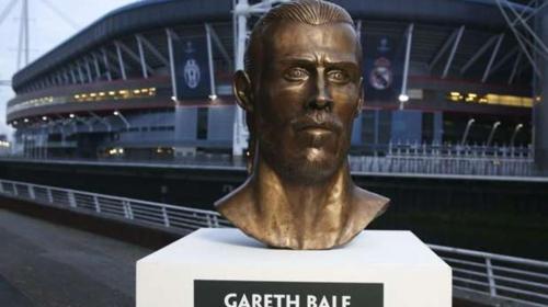 El escultor del polémico busto de CR7 hizo uno de Gareth Bale