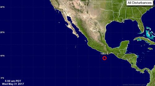 Depresión tropical afectará a Guatemala en los próximos días