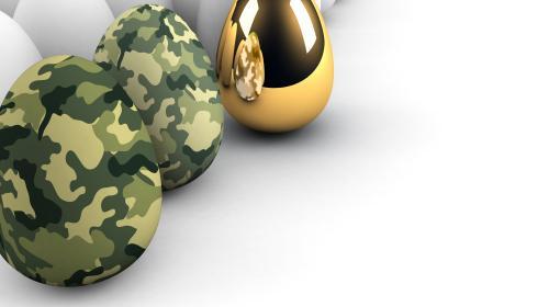Una pollería de los huevos de oro se hace millonaria con el Ejército