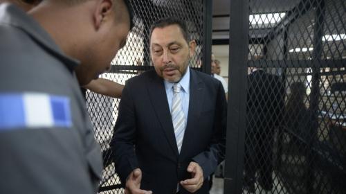 MP: exministro López Bonilla dirigió red criminal junto a Byron Lima