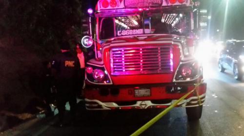 Terror en el bus: un muerto y 4 personas heridas en ruta al Pacífico