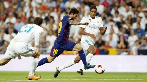 El extraño horario del clásico español Real Madrid vs. Barcelona