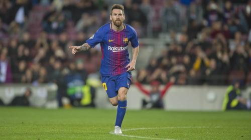 Lionel Messi jugará su partido 600 con el Barcelona frente al Sevilla