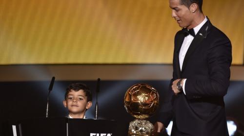 Cristiano Ronaldo presume el talento de su hijo en las redes sociales