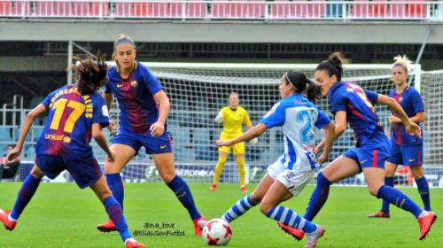 Así se enfrentó Ana Lucía Martínez al FC Barcelona