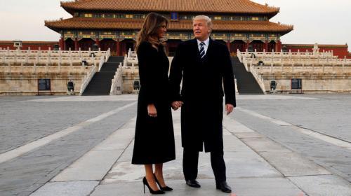 De esta forma violó la ley Donald Trump mientras estaba en China