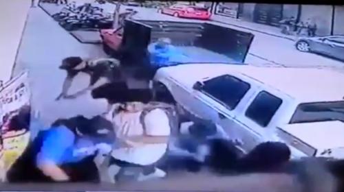 Video muestra el ataque armado en la zona 1