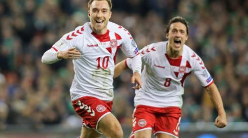 Christian Eriksen guía la goleada de Dinamarca que elimina a Irlanda