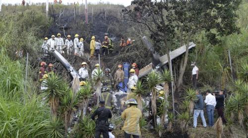 ¿Qué provocó el accidente aéreo que dejó a dos personas heridas?