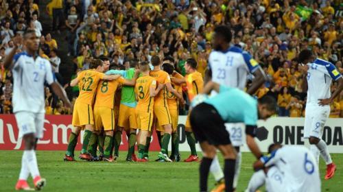Adiós al sueño mundialista de Honduras: Australia golea y clasifica
