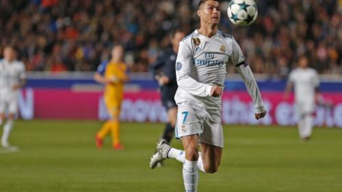 El enojo de Cristiano Ronaldo tras el partido de Champions League
