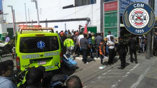 Así identificaron a las víctimas del ataque en la zona 9