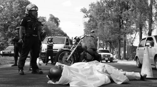 Motorista muere en accidente en el Periférico en dirección sur