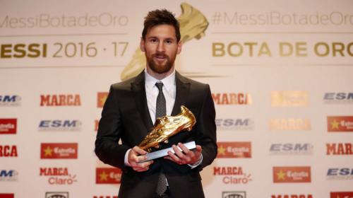 Lionel Messi iguala a Cristiano Ronaldo al recibir este premio
