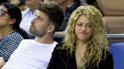 Salen a luz unas fotos de Shakira y Piqué luego de su pelea pública