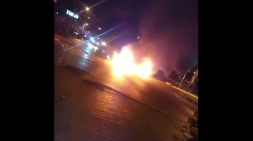 Un muerto y varios heridos en incidentes de tránsito en la capital