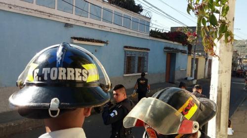 Hacen macabro hallazgo dentro de costales en zona 1 de Villa Nueva