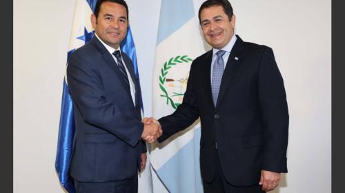 Jimmy felicitó al presidente de Honduras sin conocer datos oficiales