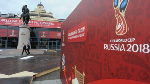 La FIFA presenta el póster oficial del Mundial de Rusia 2018