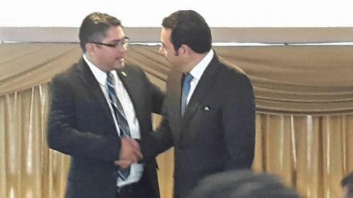 Jimmy irá al Parlacen luego de que Othmar Sánchez perdió su inmunidad