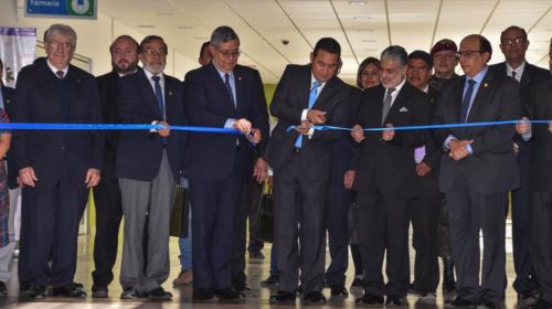 Inauguran hospital en Quetzaltenango que costó Q450 millones