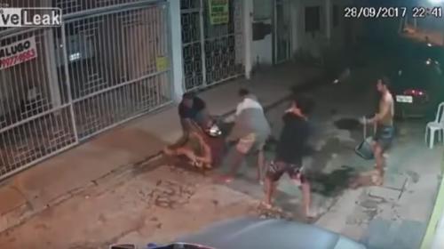 Motoladrones se convierten en víctimas al entrar al barrio equivocado