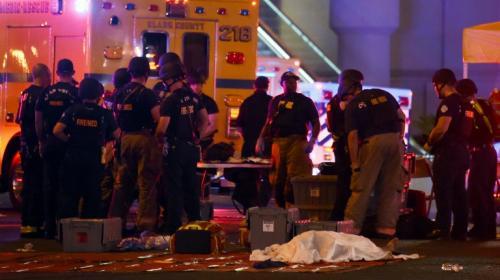 Más de 50 muertos en uno de los tiroteos más sangrientos en EE.UU.