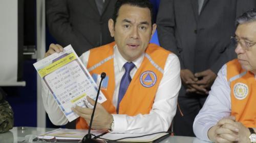 Ejecutivo analiza decretar Estado de Calamidad por las lluvias